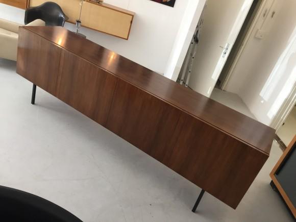 Palisander Sideboard Rosewood Credenza Waeckerlin Elastique Vintage Moebel Zuerich Schweiz 1