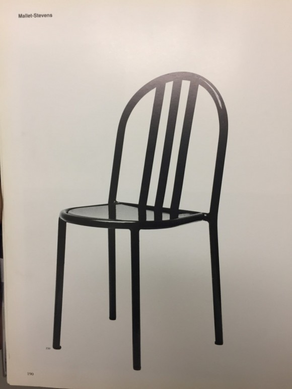 Robert Mallet Stevens Ecart Stapelstuhl Stacking Chair Elastique Vintage Moebel Furniture Zuerich Schweiz 11