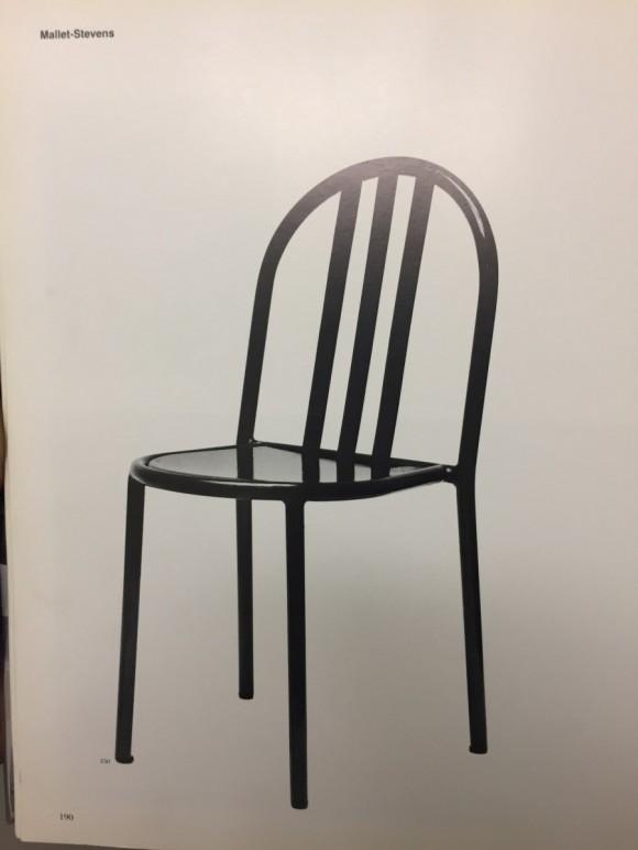 Robert Mallet Stevens Ecart Stapelstuhl Stacking Chair Elastique Vintage Moebel Furniture Zuerich Schweiz 11