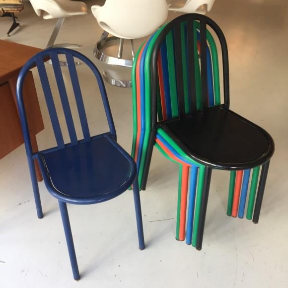 Robert Mallet Stevens Ecart Stapelstuhl Stacking Chair Elastique Vintage Moebel Furniture Zuerich Schweiz 12