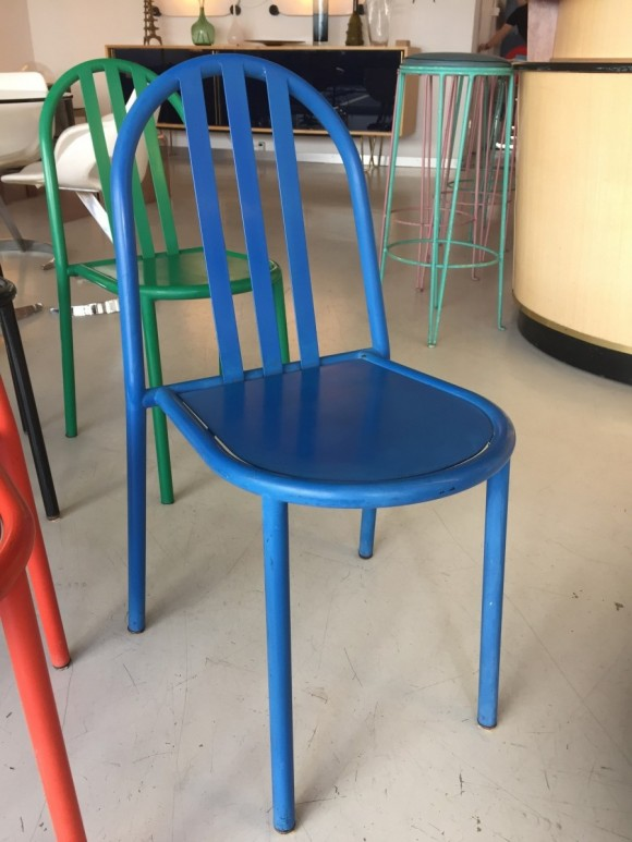 Robert Mallet Stevens Ecart Stapelstuhl Stacking Chair Elastique Vintage Moebel Furniture Zuerich Schweiz 3
