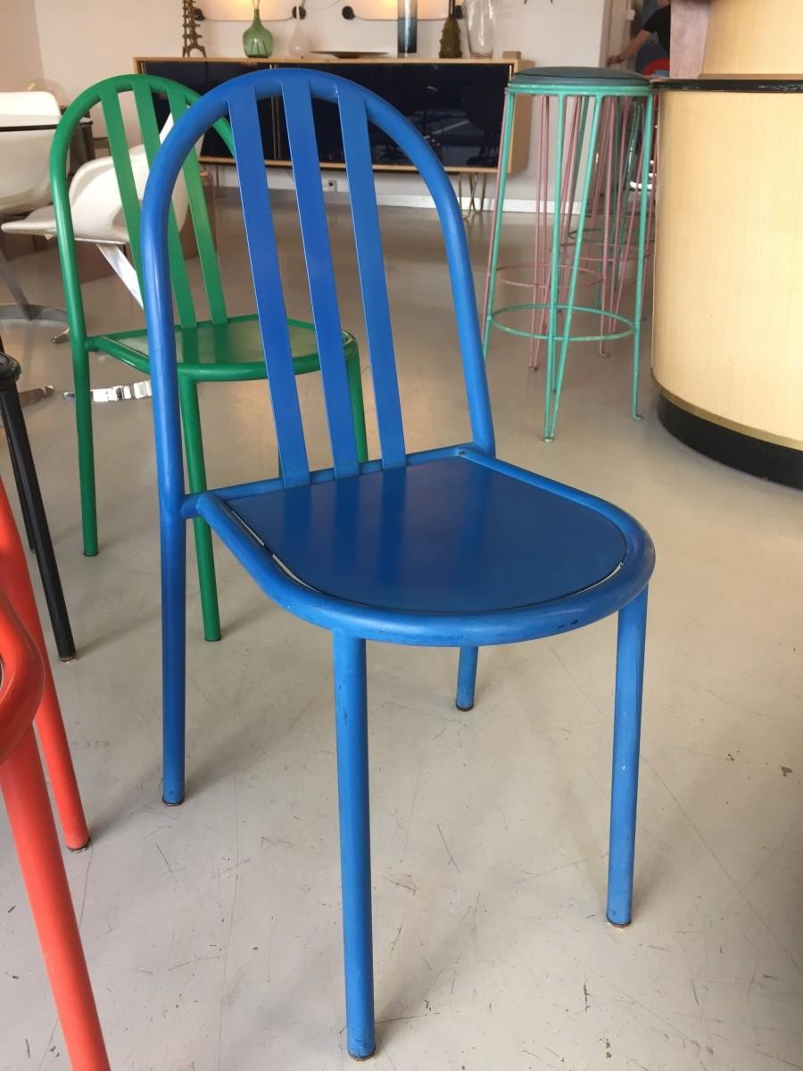 elastique vintage möbel furniture zürich schweiz – 6 Stapelstühle ...