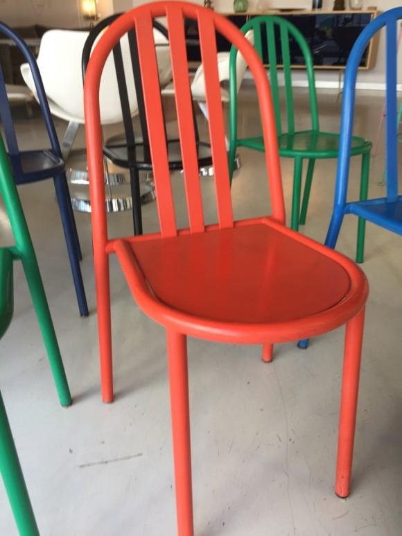 Robert Mallet Stevens Ecart Stapelstuhl Stacking Chair Elastique Vintage Moebel Furniture Zuerich Schweiz 4
