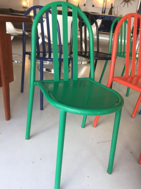 Robert Mallet Stevens Ecart Stapelstuhl Stacking Chair Elastique Vintage Moebel Furniture Zuerich Schweiz 5