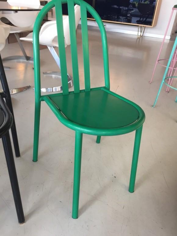 Robert Mallet Stevens Ecart Stapelstuhl Stacking Chair Elastique Vintage Moebel Furniture Zuerich Schweiz 7