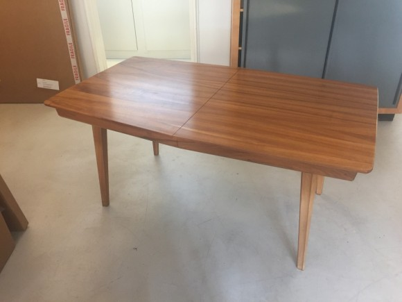 Nussbaum Tisch Auszugsztisch 1960 Vintage