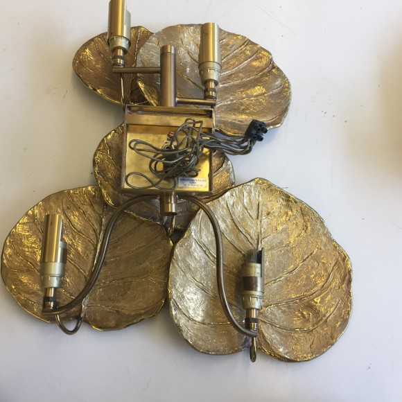 Wandlampe Wall Lamp Sconce Brass Maison Charles Paris Elastique Z  Rich 6