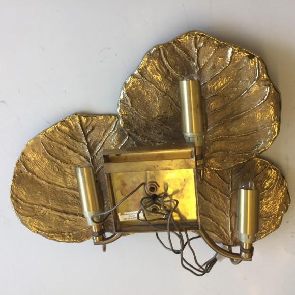 Wandlampe Wall Lamp Sconce Brass Maison Charles Paris Elastique Z  Rich 2
