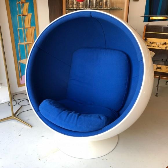 Ball Chair Eero Aarnio Elastique Vintage Zuerich Schweiz 2