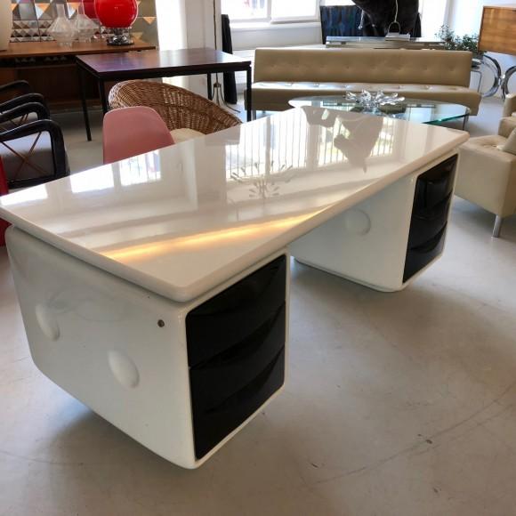 Igl Werndl Desk Schreibtisch Elastique Vintage Furniture Zuerich Schweiz Switzerland 2