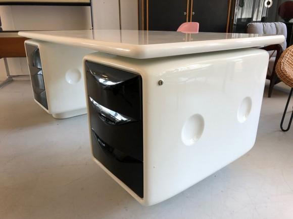 Igl Werndl Desk Schreibtisch Elastique Vintage Furniture Zuerich Schweiz Switzerland 3