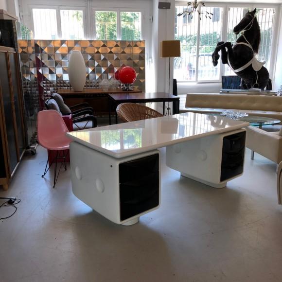 Igl Werndl Desk Schreibtisch Elastique Vintage Furniture Zuerich Schweiz Switzerland 4