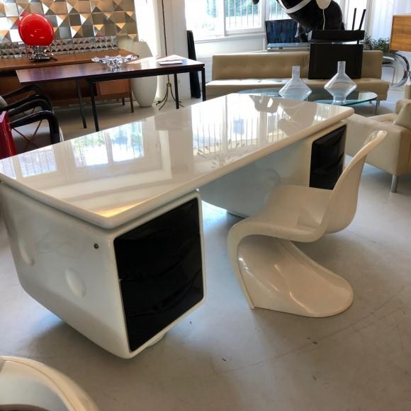 Igl Werndl Desk Schreibtisch Elastique Vintage Furniture Zuerich Schweiz Switzerland 6