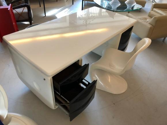 Igl Werndl Desk Schreibtisch Elastique Vintage Furniture Zuerich Schweiz Switzerland 7