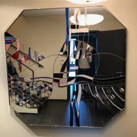 Spiegel-Objekt von Albano Poli