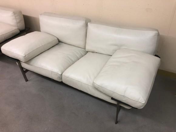 Sofa Diesis 2seater Antonio Citterio Bbitalia Weiss White Elastique Zuerich Schweiz 1